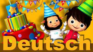 Alles Gute Zum Geburtstag Kinderlieder Littlebabybum Youtube