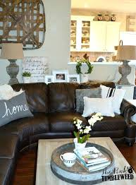 brown couch living room ideas brilliant living room with leather couch and black leather sofa brown leather corner sofa living room ideas