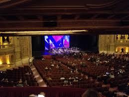 Chicago Theatre Mezzanine Booth R Rateyourseats Com
