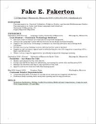 Things To Include In A Resume Spectacular Good Job Skills Put Resume
