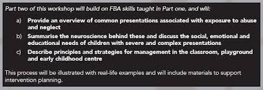 Functional Behaviour Analysis & Complex Trauma - Auckland - Eventfinda