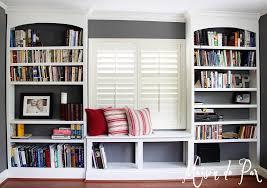 Shelves Around Window Custom Built Wall Bookshelves In Bookcase Ideas Feae Surripuinet