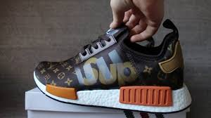 louis vuitton x adidas. supreme x louis vuitton adidas nmd r1 boost hd review \