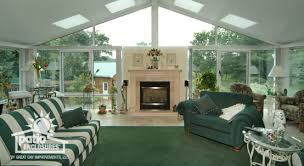 a magnificent classic fireplace surrounded by glass sunroom ideas with m2 fireplace