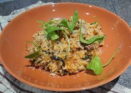 Steps to Prepare Perfect Tuna And Tomato Risotto | Delish Recipes