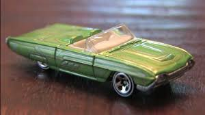 TREASURE HUNTS '63 THUNDERBIRD Hot Wheels review - YouTube