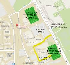 directions & details for the new turf field at carleton university Carleton University Parking Map directions & details for the new turf field at carleton university Carleton University Blank Map