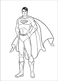 The coloring sheet has superman with his love interest lois lane and the two are discussing something serious. Superman Coloring Pages Z31