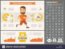 Sports Infographic Template Sports Flat Design Infographic Template Stock Vector Art