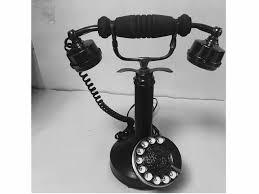 Old Telephone Design Black Color Old Design Telephone Vintage Inspired Phone