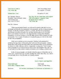 4 Proper Form For Business Letter Format Of Notice