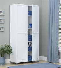 white utility cabinet. Fine Utility Utility Storage Cabinet White On