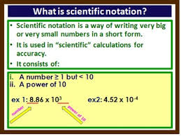 standard form physics scientific notation scalars vectors graphical representation of