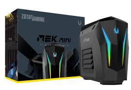 MEK <b>MINI</b> with <b>8th</b> Gen <b>Intel Core</b> i7 and GeForce RTX 2070 | ZOTAC
