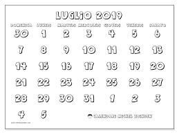 Calendario Luglio 2019 71ds Michel Zbinden It