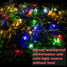 Light Source Christmas Lights Us 13 35 38 Off Christmas Solar Light Led Lights Decoration Outdoor Light Peach Blossom Led String Lamp Christmas Lights Outdoor In Led String From