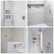 Horizontal Shower Niches