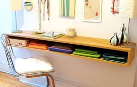 #1: DIY floating desk with drawers