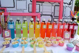 art party creative juice drinks dimpleprints