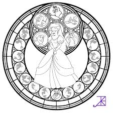Small Picture Ariel Stained Glass line art by Akili Amethyst on DeviantArt
