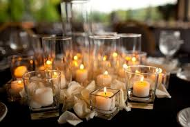 wedding table decorations | The Confetti Blog: Decorating with Rose Petals  - Ideas and Inspiration