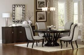 savion espresso round oval pedestal dining table