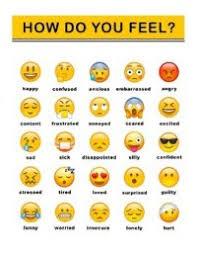 Emoji Feelings Chart Printable Printable Emoji Feelings Chart Emoji Feeling Chart By