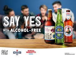 Alcohol In Heineken Vs Heineken Light Heineken Launches First Cross Brand Zero Alcohol Campaign To