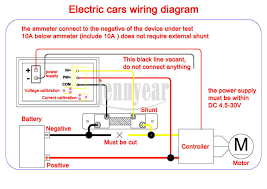 12 volt gauge wiring diagram on digital panel meter wiring diagram car motorcycle yb27va dc 0 100v 100a voltmeter ammeter 2in1 red led 12 volt gauge wiring diagram on digital panel meter wiring diagram