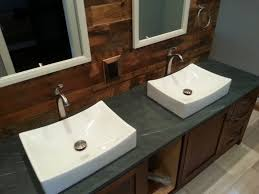 slate countertop bathroom