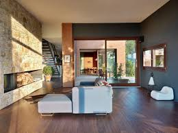 Decorating  Beautiful Contemporary Home Design Plans in Natural    Decorating  Countryhouse In Val Tidone Wooden Floor Grey Wall  Beautiful Contemporary Home Design Plans