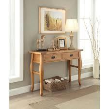 Linon Home Decor Santa Fe Antique Pine Storage Console Table