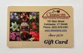 claussen s gift card