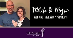 Thatch Winery Wedding Giveaway | Thatch Winery
