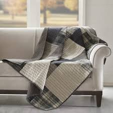 Quilted Woolrich Throw Blankets For Less | Overstock.com & Woolrich Winter hills Tan Cotton Thread Count Printed Quilted Throw Adamdwight.com
