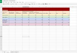 Google Docs Gradebook H Thomes Online Portfolio