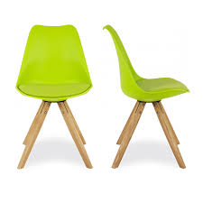 charles eames x2 style green dining chairs with pyramid solid oak wood legs green dining chairs y65