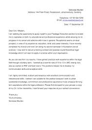Sample Cover Letter For Job Application Unemployed Eursto Com