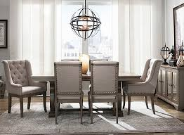 Image Luxury Dining Set Raymour Flanigan 3pc 5pc 7pc Dining Sets Glass Formal Modern Dining Sets