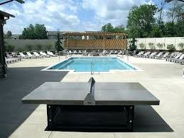 outside ping pong table outdoor concrete reviews diy concr