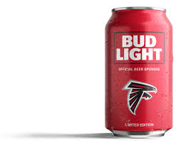 Atlanta Falcons Bud Light Cans Falcons Fans Bud Light Has Created A Can Just For You
