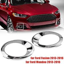 2010 Ford Fusion Fog Light Trim Us 4 99 Lh Rh Chrome Fog Light Cover Bezel Trim Ring For Ford Fusion Mondeo 2013 2014 2015 2016 In Chromium Styling From Automobiles Motorcycles