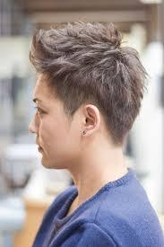 wカラーメンズショートヘア Hair Salon Matchup石川県白山市美川町