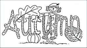 Autumn Squirrel Coloring Pages Halloween Scary For Adults To Print