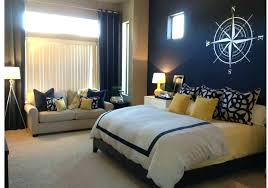 yellow master bedroom red accent wall living room navy blue accent