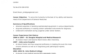 Magnificent Sample Pre Medical Student Resume Gallery Example