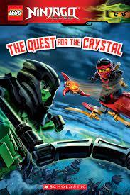 The Quest for the Crystal (LEGO Ninjago: Reader #14) eBook von Scholastic –  9780545913188