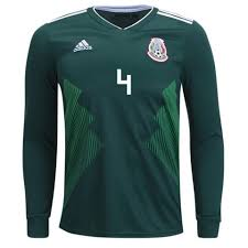 4 Fifa Long R Marquez Sleeve Mexico 2018 Home Cup Jersey World