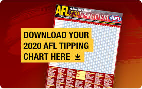 2020 Afl Tipping Chart Download Free Pdf Aussie Rules