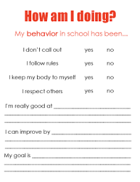 Student Midyear Review: The Self Evaluation Process (Goal Setting ...